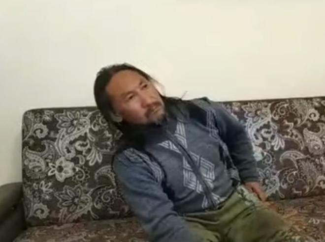 Шаман Габышев дал первое интервью после освобождения