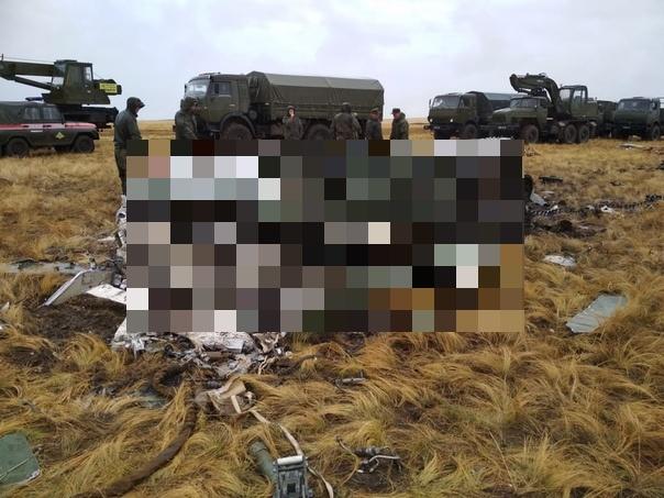 Фотографии разбившихся на учениях боевых машин ВДВ
