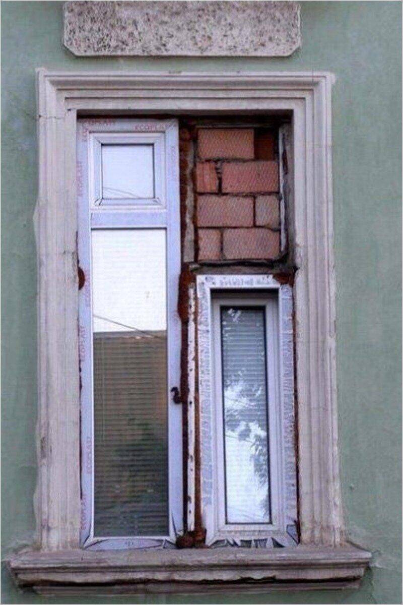 Примеры не самых качественно проведённых ремонтных работ