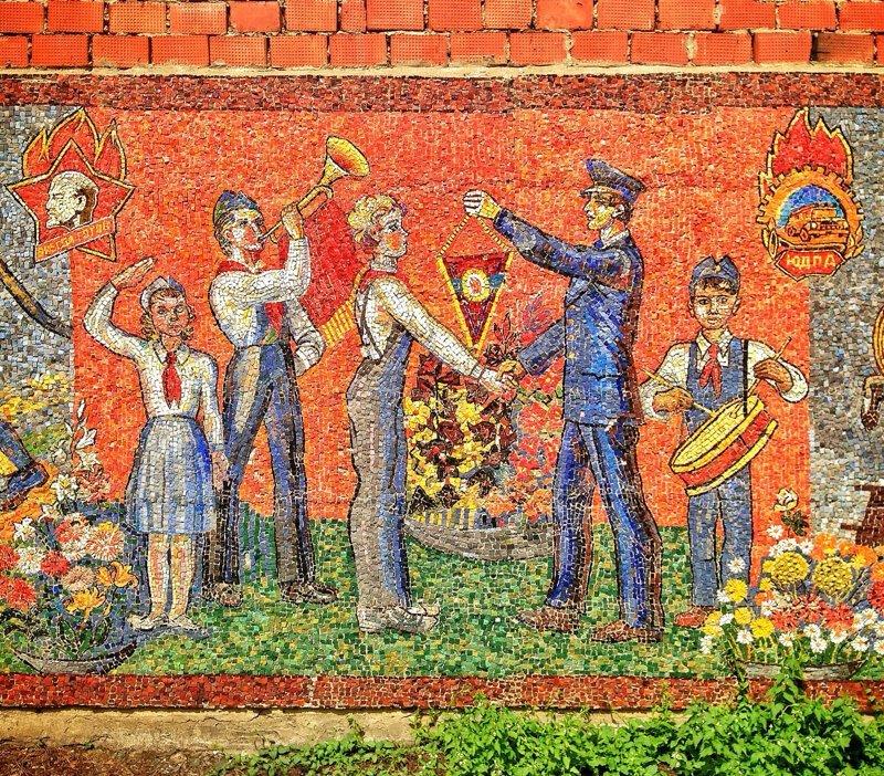 Модернистское искусство - советские мозаики