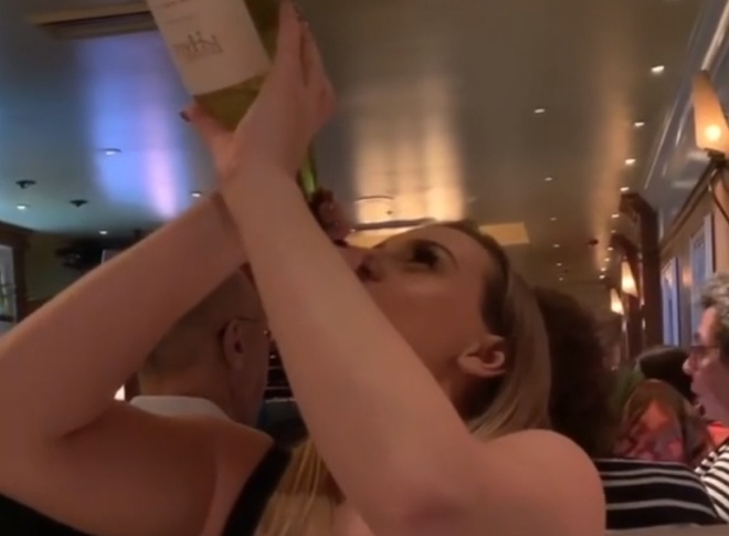 Девушка, с которой не стоит пить в одной компании
