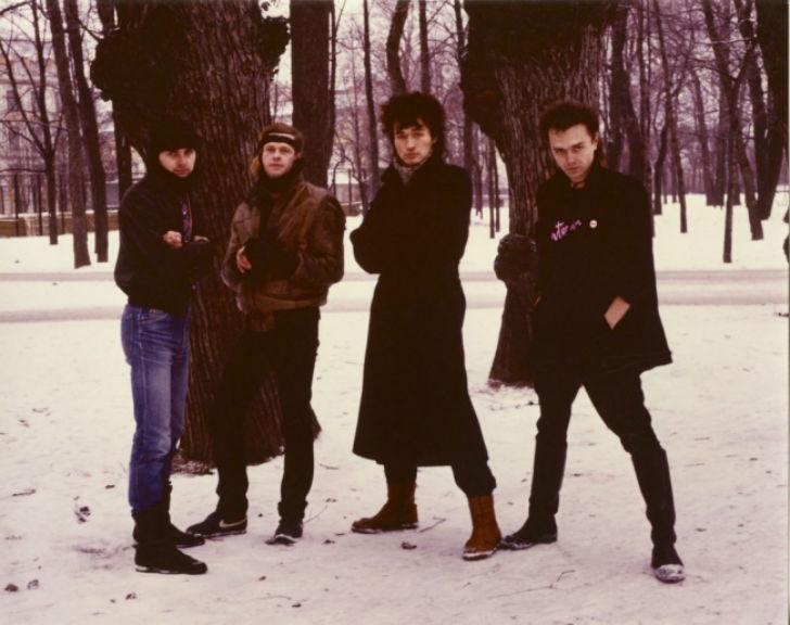 Редкие фотографии звезд советского рока в молодости