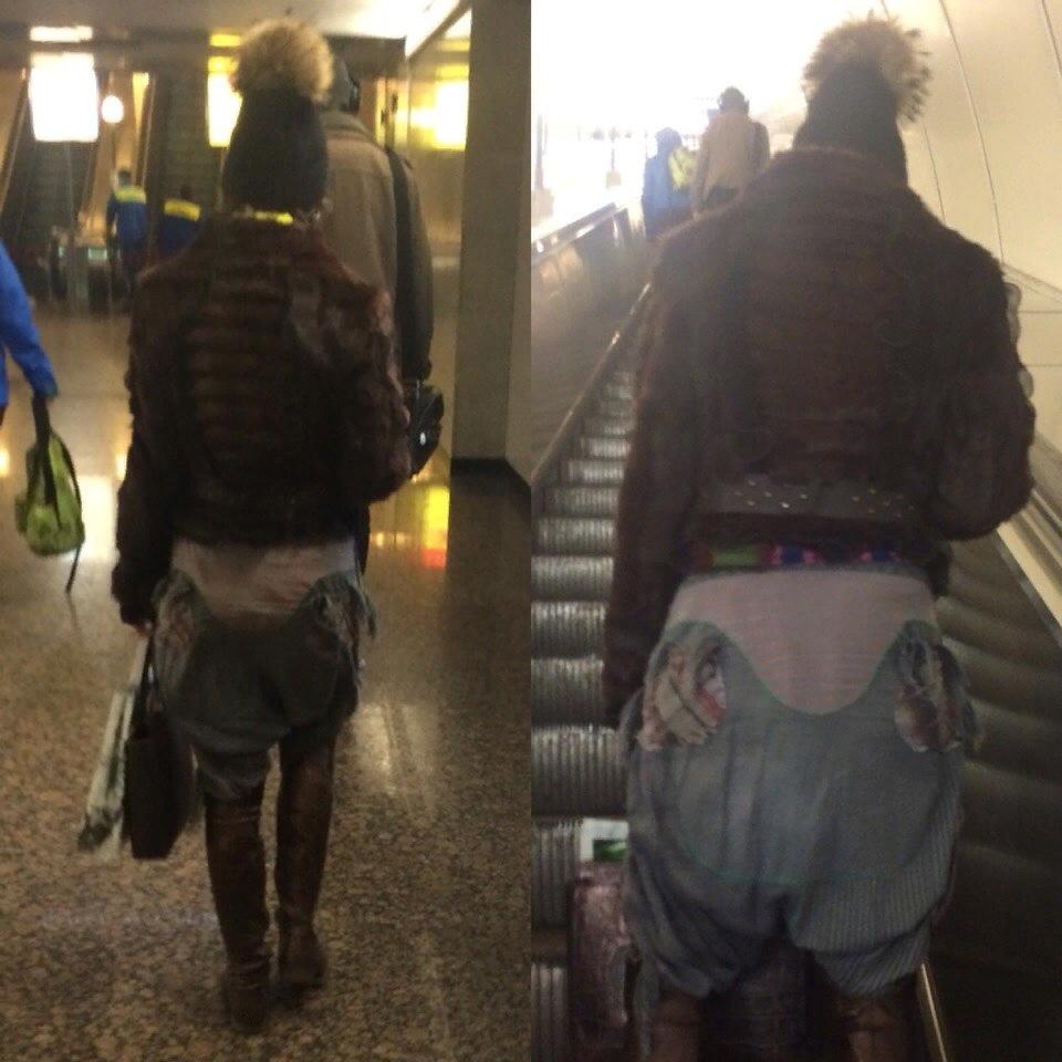 Беспощадная мода обитателей метрополитена