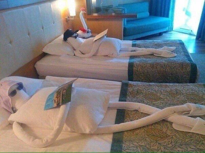 Беспощадный креатив от отелей
