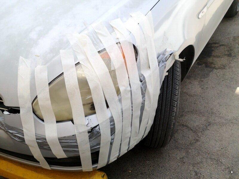 Не самый профессиональный ремонт машин