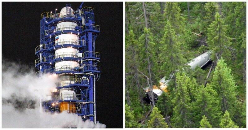 Космический мусор обнаружили в лесах Коми