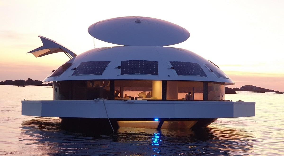 Элитный гостиничный номер с подводными спальнями а-ля Джеймс Бонд