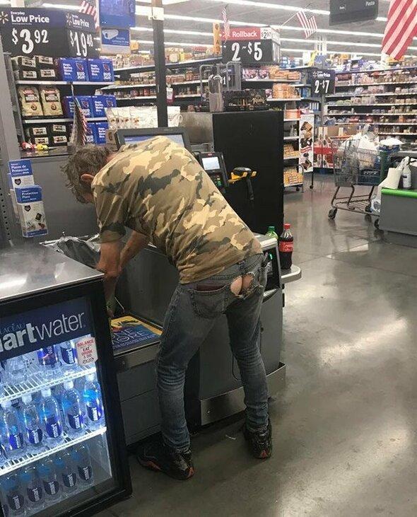 Странные люди, которых вы можете встретить в магазинах