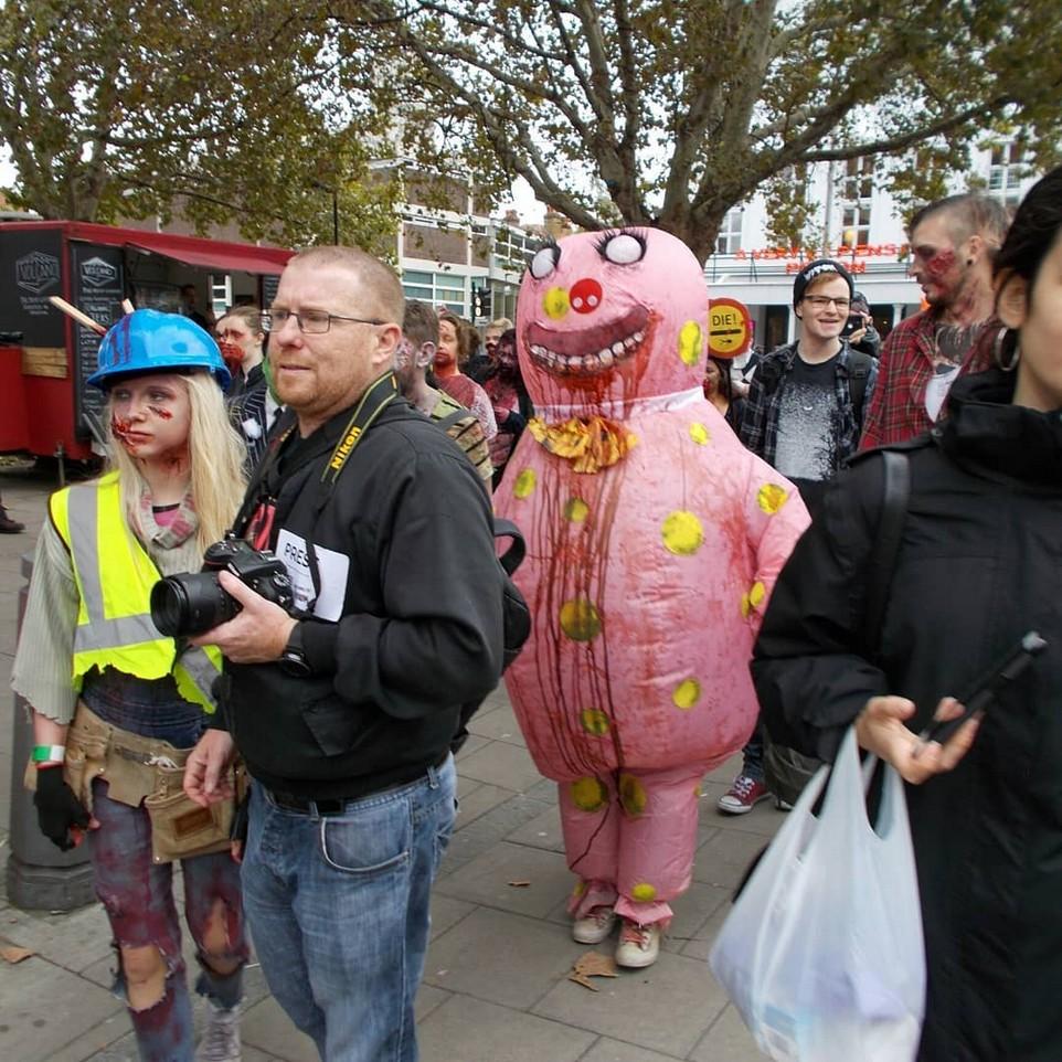 В Лондоне прошел 12-парад в честь Всемирного дня зомби