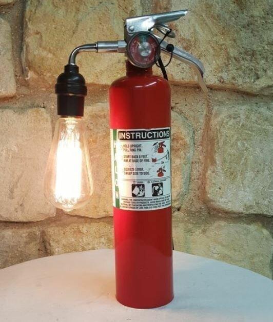 Tűzoltó készülék használata a kreativitásban