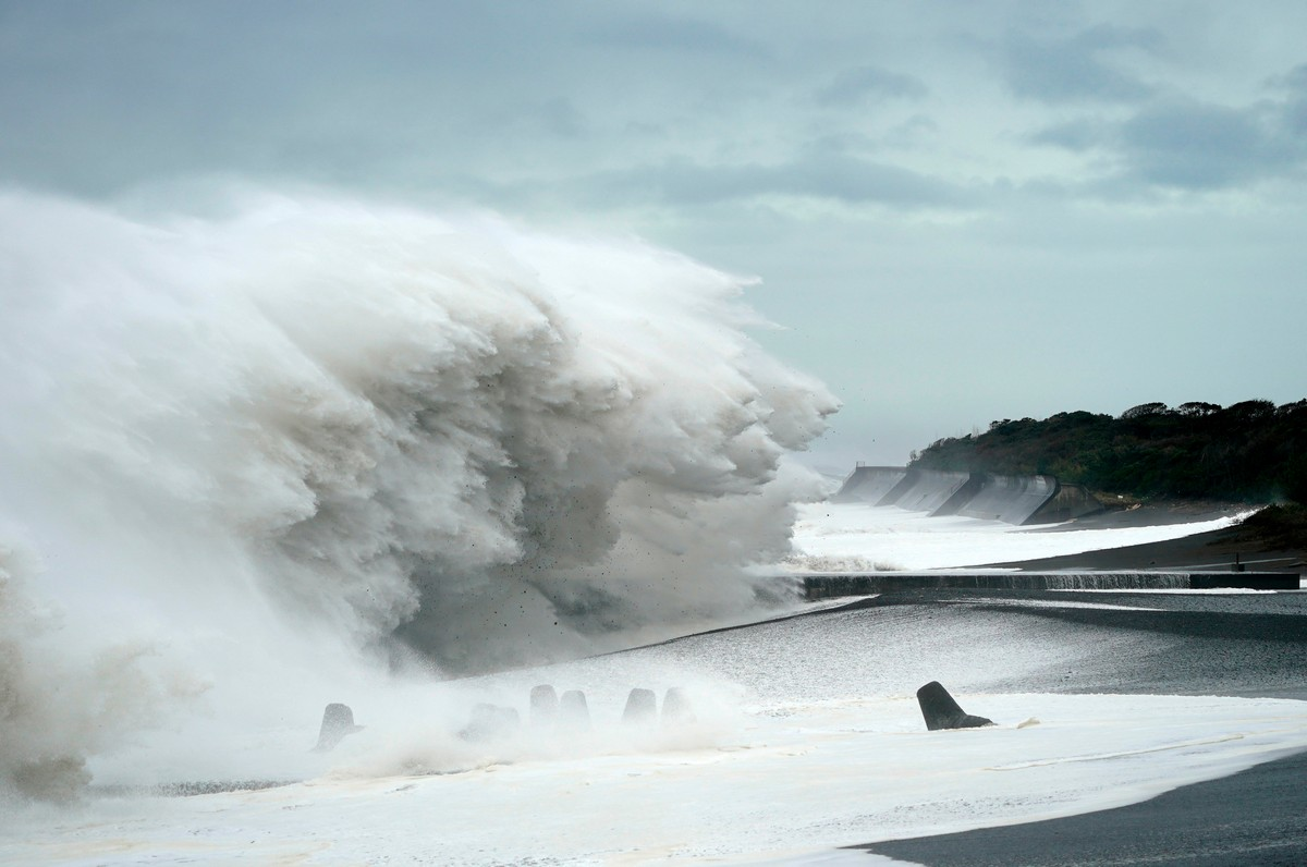 Последствия от тайфуна
