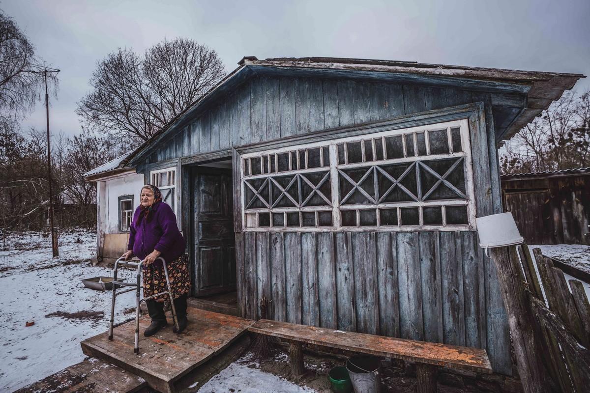 Как живут люди в деревнях Чернобыльской зоне отчуждения