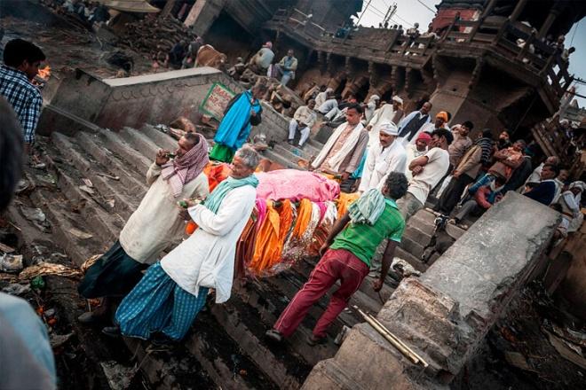 Индиец «воскрес» на своих похоронах