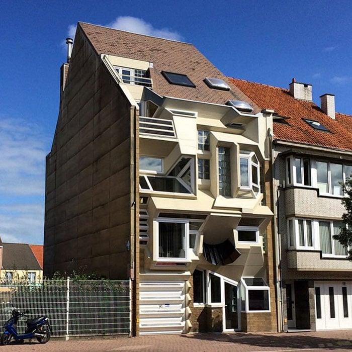 Самые странные дома в Бельгии