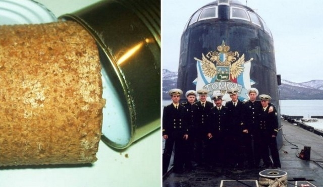 Моряки-подводники едят заспиртованный хлеб… И это вкусно!
