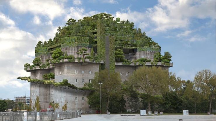 Из построенного нацистами бункера в Гамбурге собираются сделать отель
