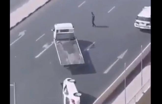 Такую эвакуацию автомобиля редко увидишь