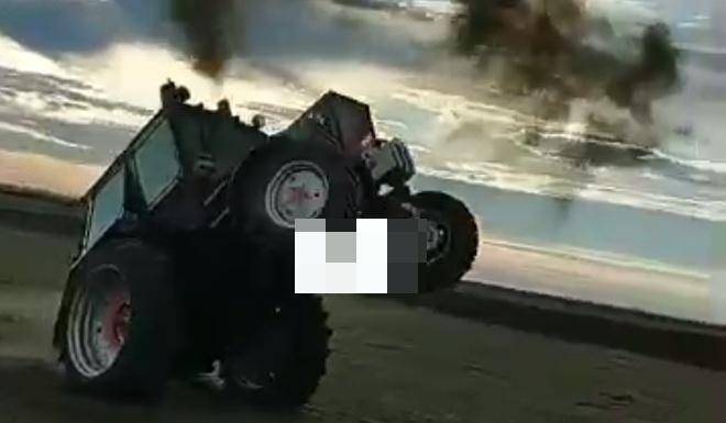 Не стоило ставить трактор на дыбы