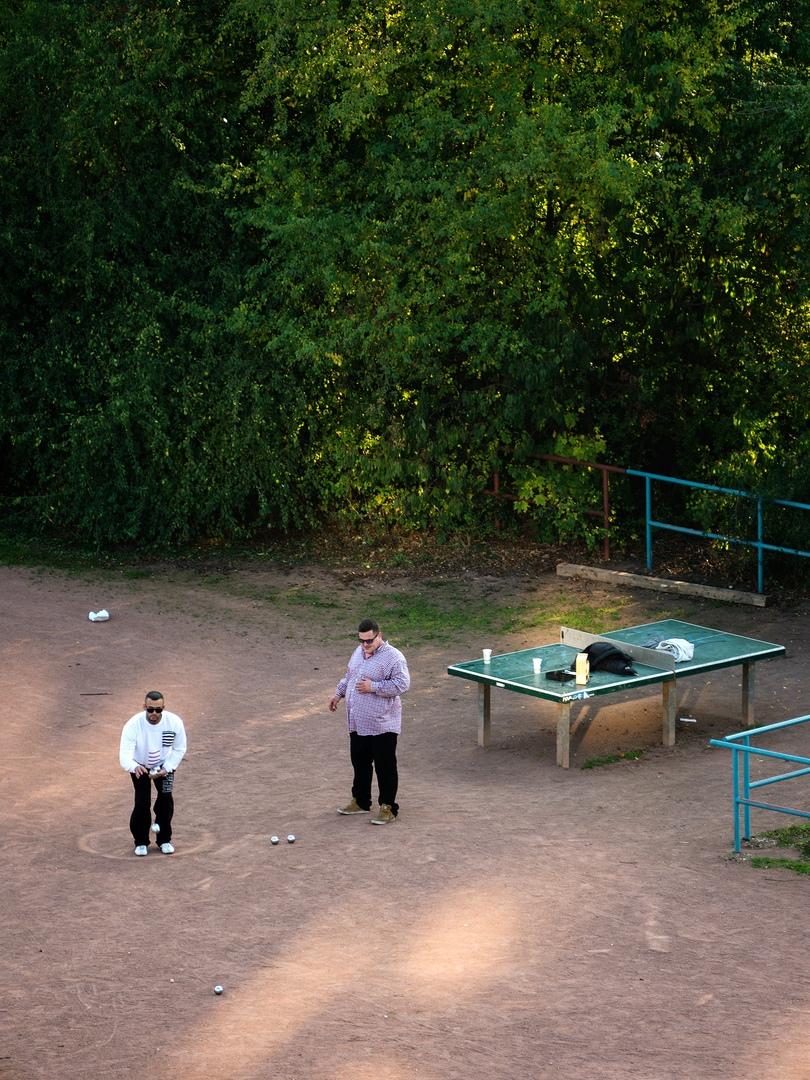 За этот теннисный стол переживаю больше, чем за себя