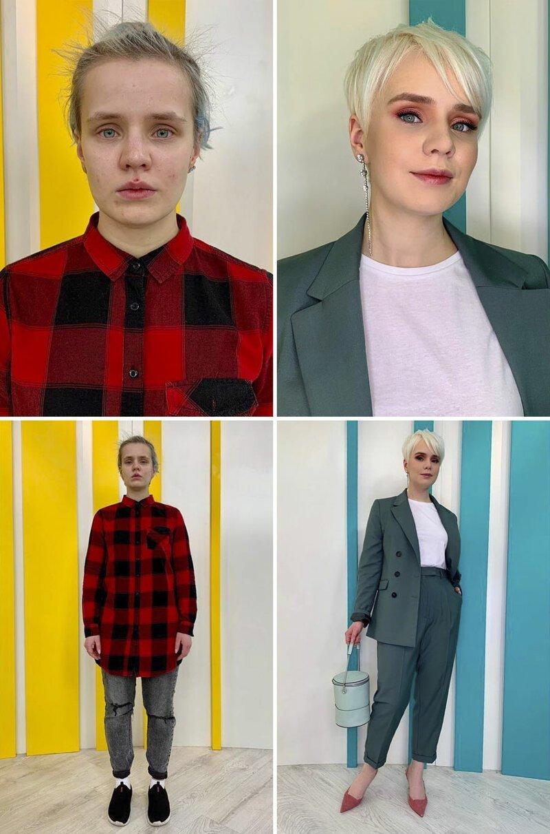 Примеры того, как умеют работать стилисты