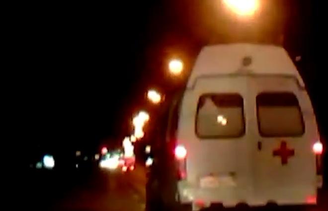 В Нижегородской области мужчины пытались угнать автомобиль скорой помощи
