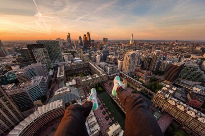 Руфер показал виды на Лондон с разных крыш