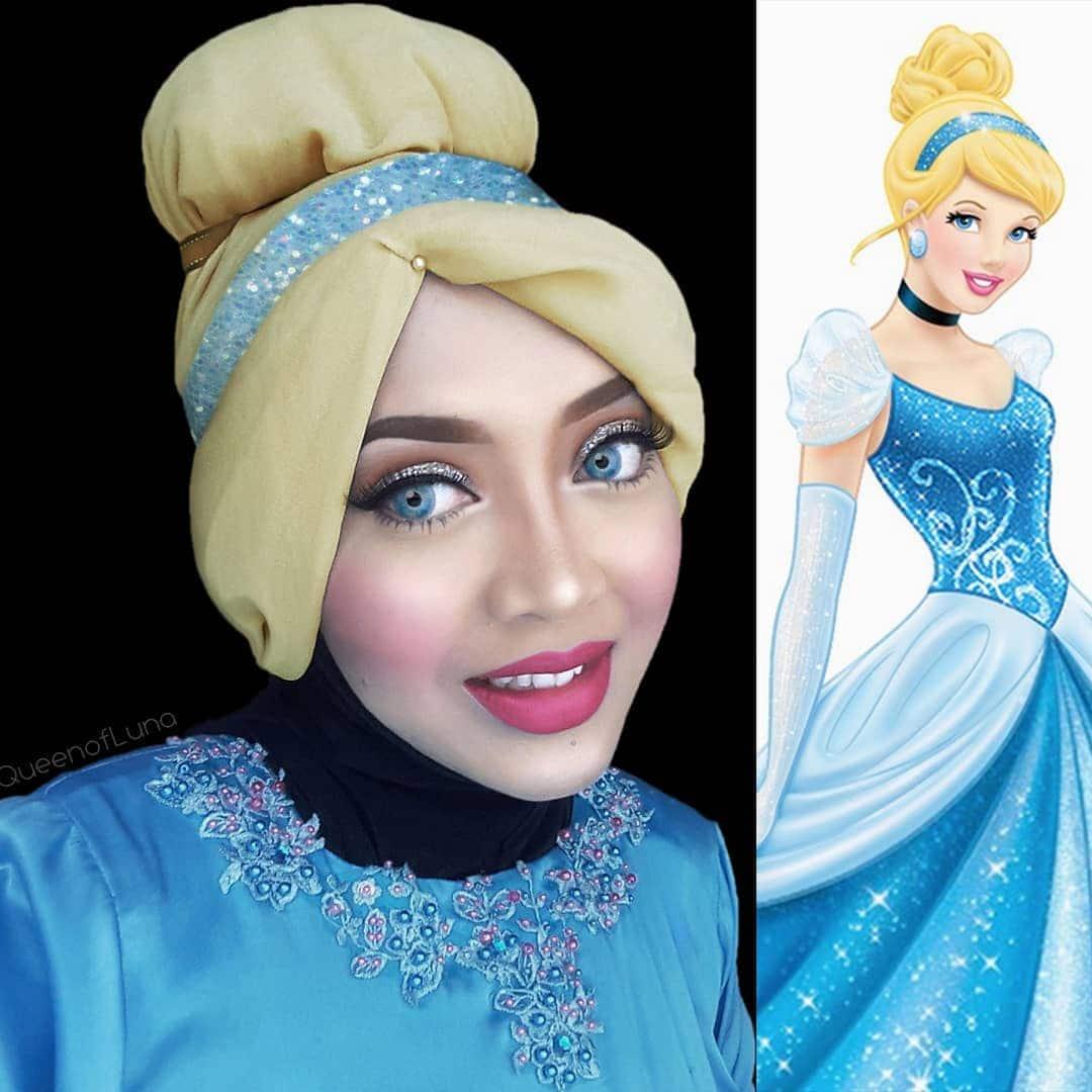 Косплей, которому не мешает даже хиджаб