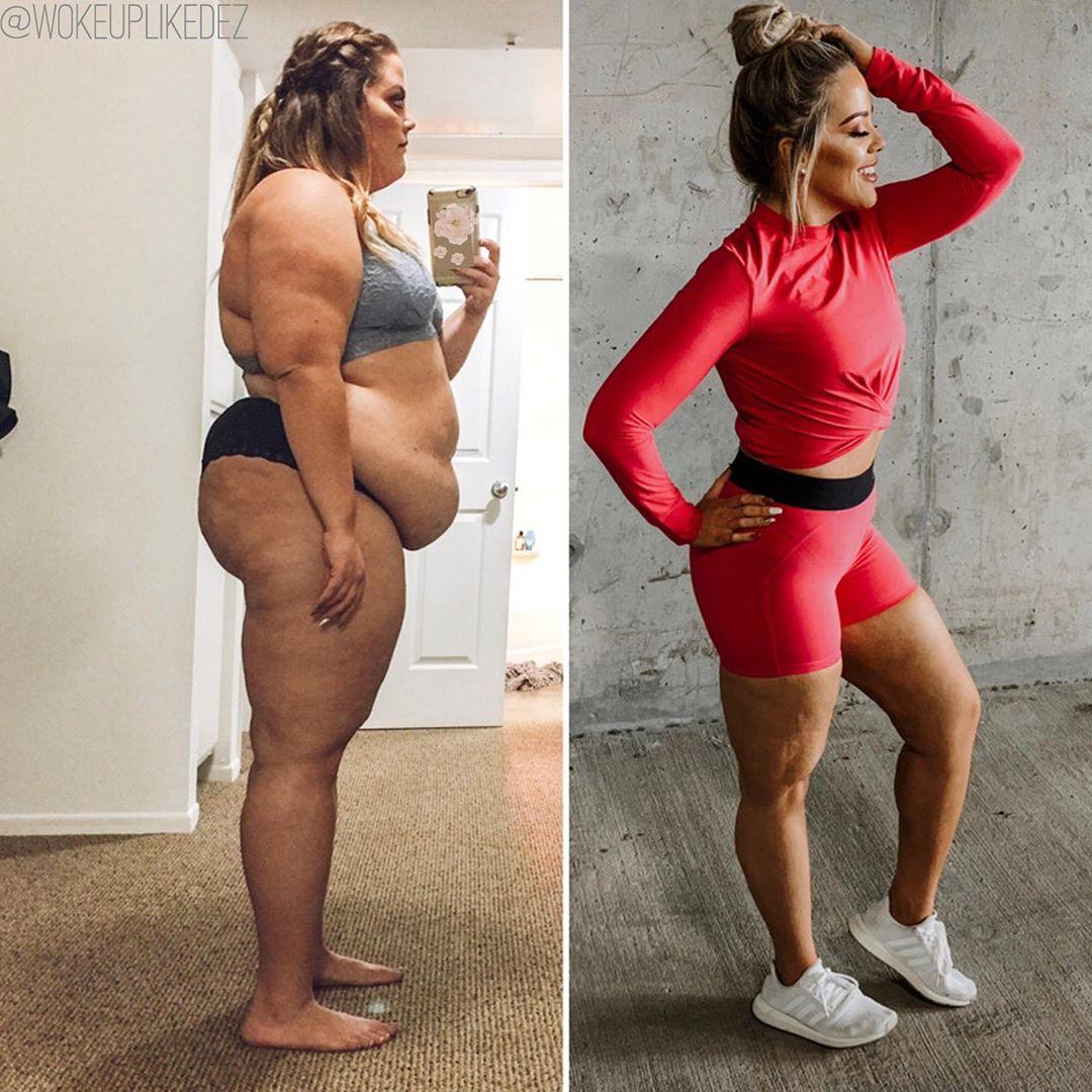 Посмотрите, как за два года изменилась 25-летняя Дезире Алексис-Кай Миз