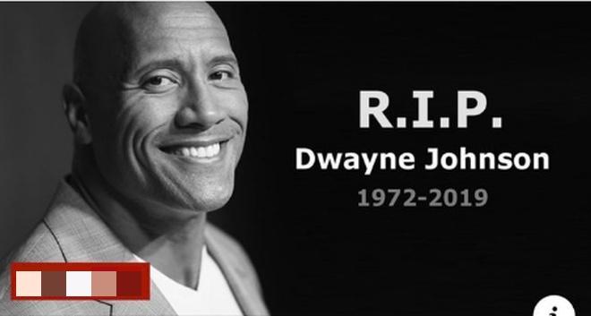 Появилась информация о смерти известного актера Дуэйна «Скалы» Джонсона