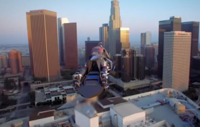Будущее наступило: в США собираются запустить летающие мотоциклы