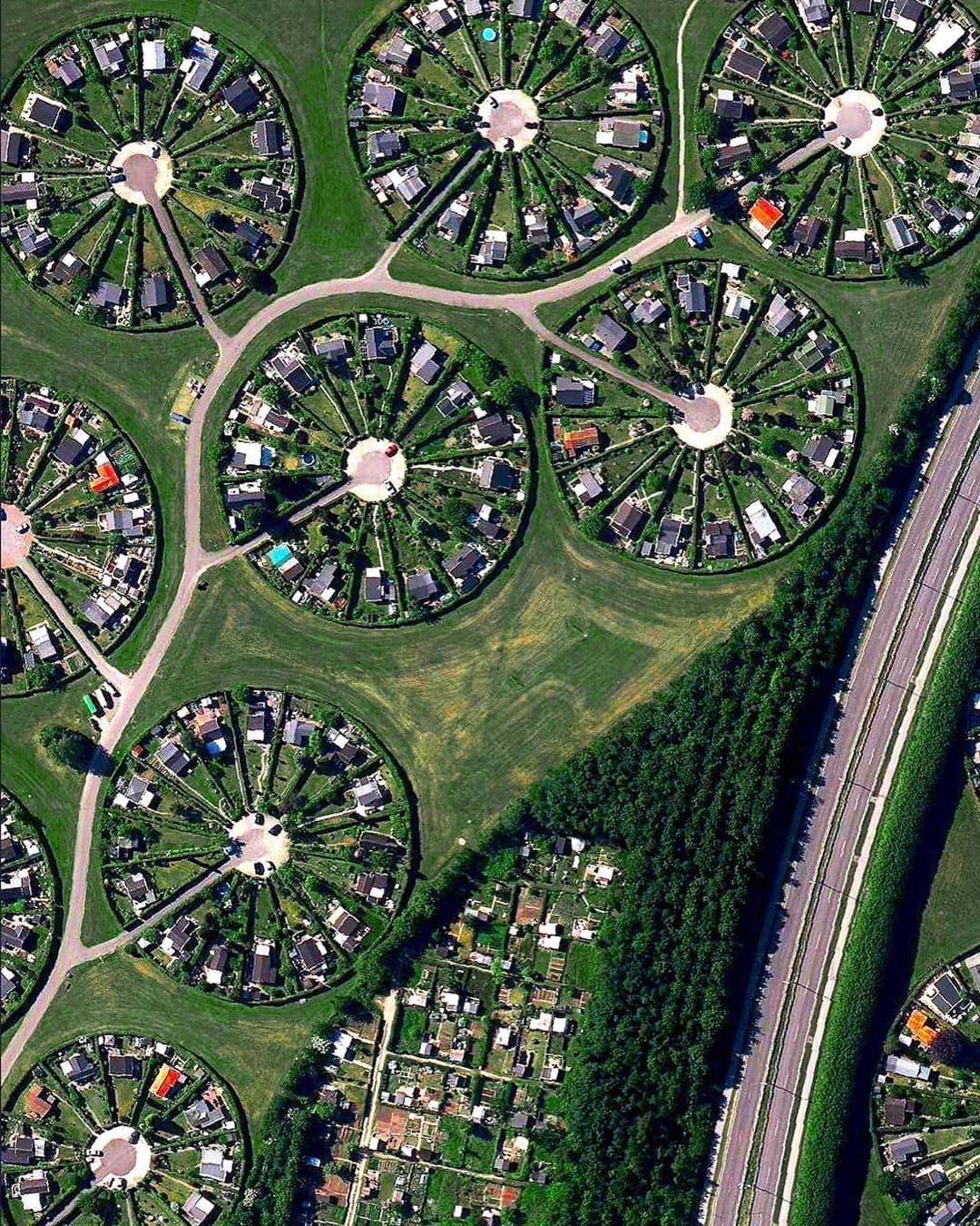 Удивительные фотографии Земли с высоты птичьего полета