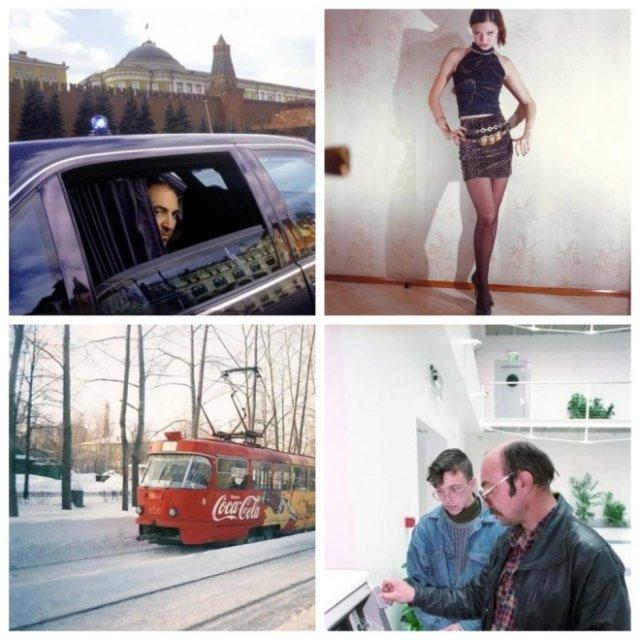 Очень интересные фотографии из 1990-х годов (15 фото)