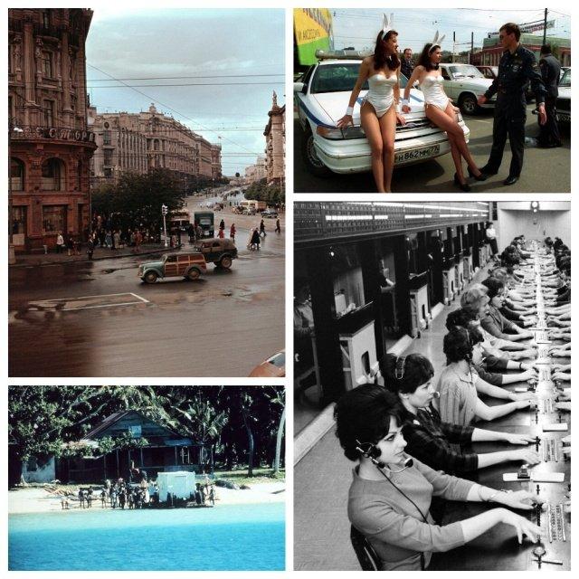 Архивные кадры и интересные моменты из прошлого (15 фото)