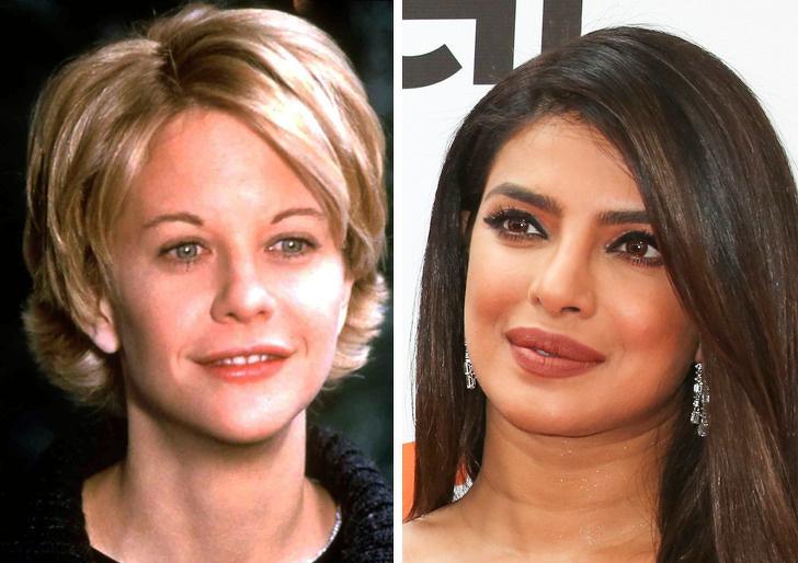 Как выглядели знаменитости старого и нового поколений в одном возрасте