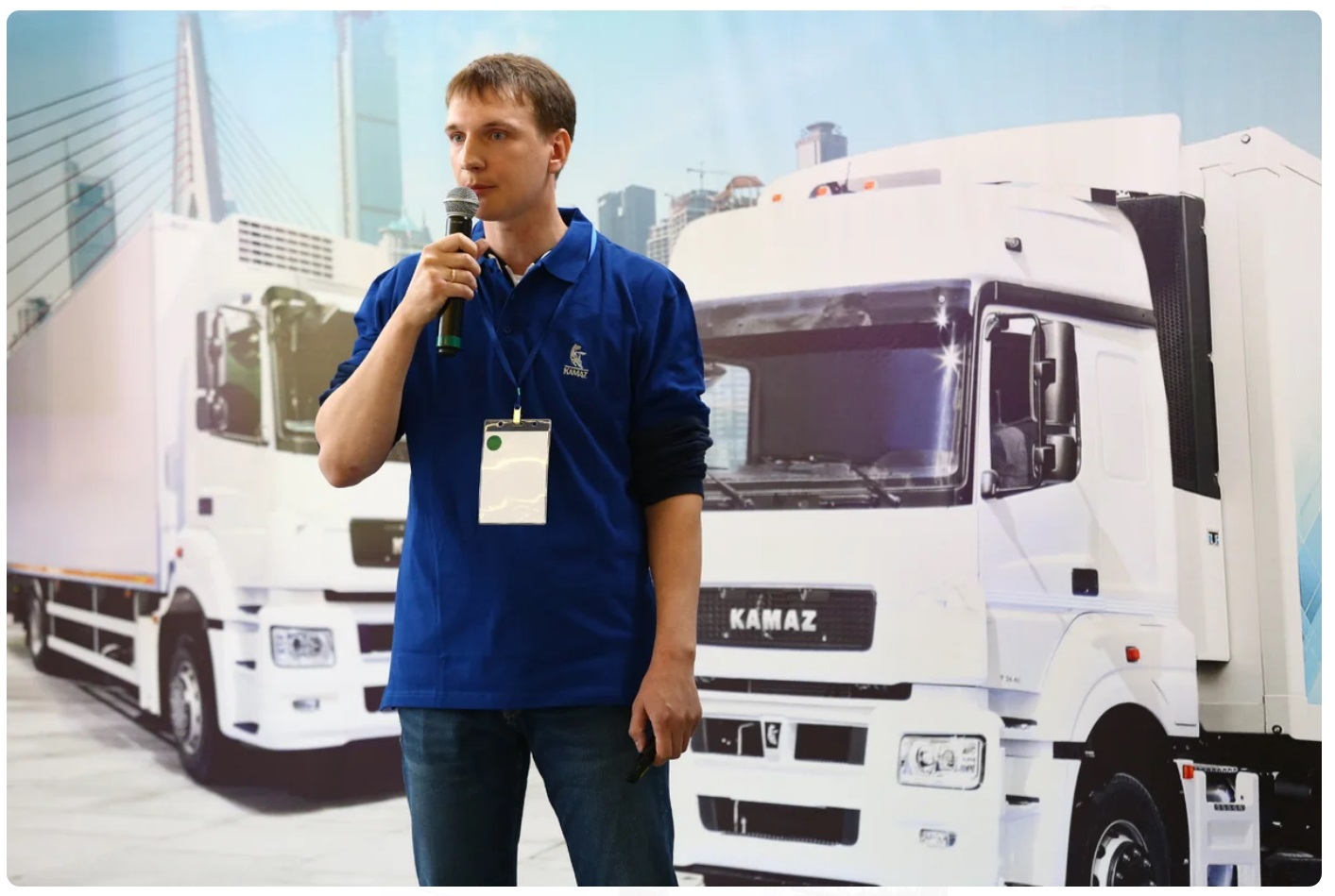Казанский тест-драйв автомобилей КАМАЗ-5490