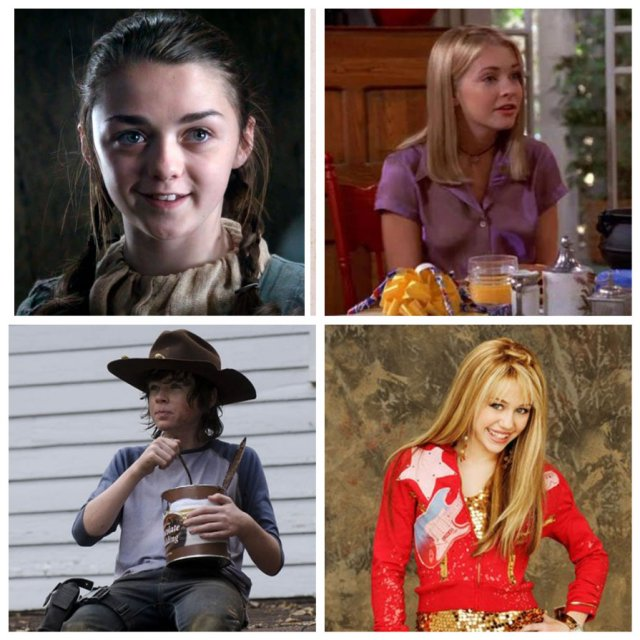 Как сейчас выглядят дети-актеры, игравшие в сериалах
