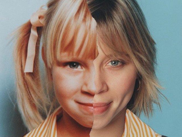 Фотограф очень наглядно показал, как меняются лица людей с годами