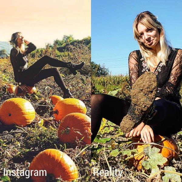 Девушка из Швейцарии показала на своем примере всю неправдоподобность Instagram