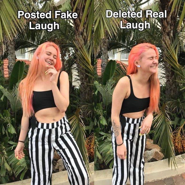 Instagram VS Реальность: Девушка худеет и полнеет на глазах Instagram VS Реальность