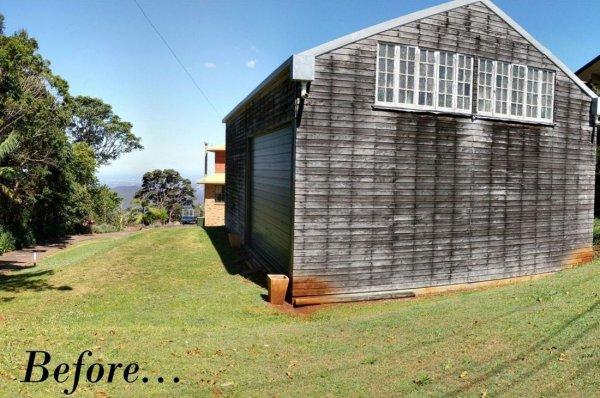 Австралиец сделал из старого амбара в дом мечты