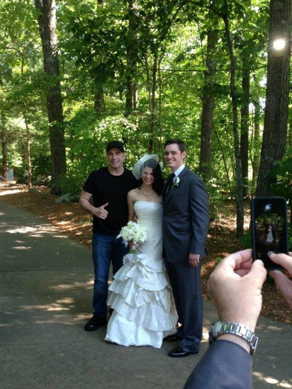 Когда голливудская звезда случайно стала гостем на вашей свадьбе