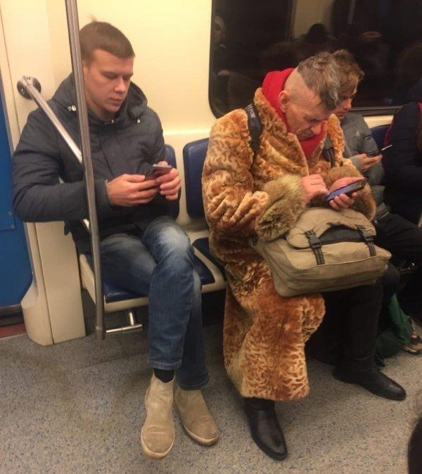 Модники и модницы метрополитена