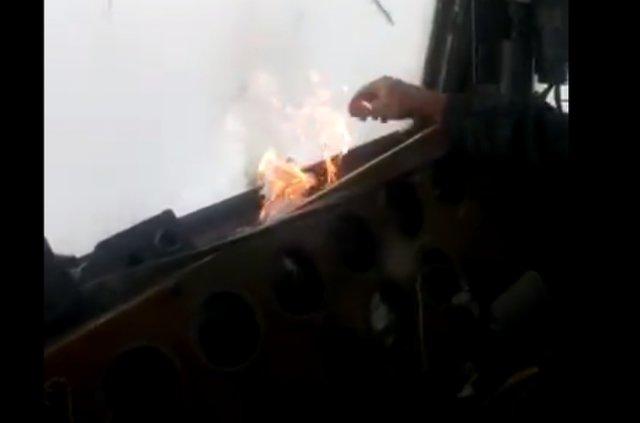Как очистить лобовое стекло локомотива