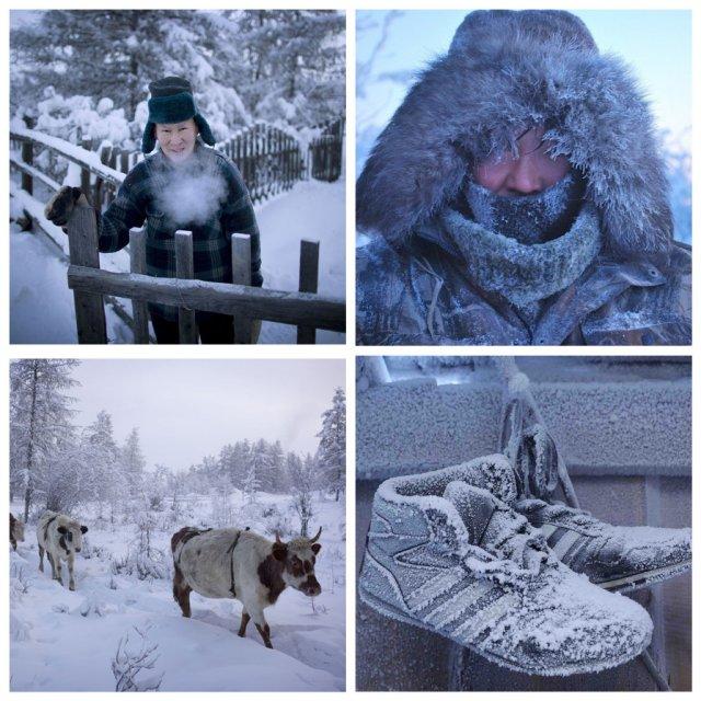 Оймякон – одно из самых холодных мест в мире (9 фото)