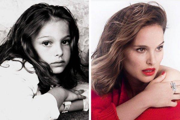 Фотографии знаменитостей в детстве