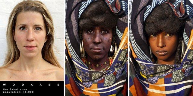 Путешественница перевоплотилась в женщин разных африканских племен