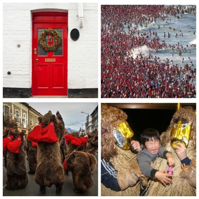 Самые странные новогодние традиции в разных странах