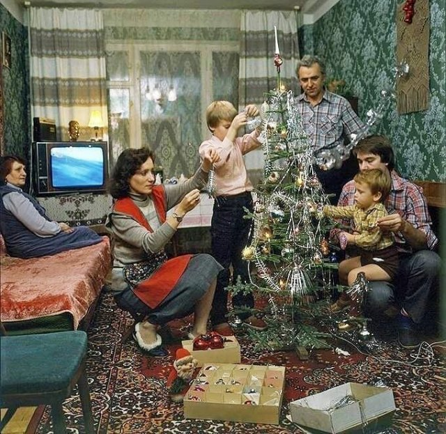Интерьеры советских квартир
