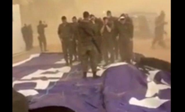 Песчаная буря в Израиле