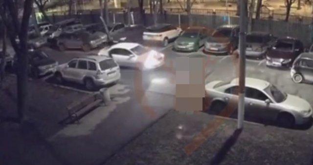 Нелепая авария с участием каршерингового автомобиля